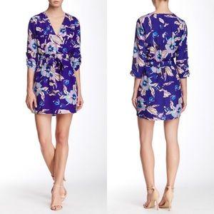 XS Floral faux wrap Yumi Kim dress